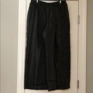 Cut loose pants
